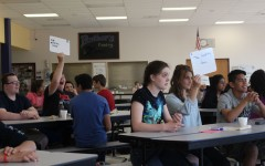 Freshmen compete in first Battle of the Books competition