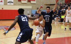 Boys basketball closes season in tight playoff game