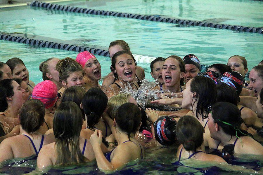 Wenatchee trumps Eastmont in swim meet
