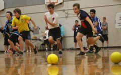 Teams collide in dodgeball tournament