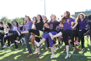 Homecoming assembly wraps up school week full of events