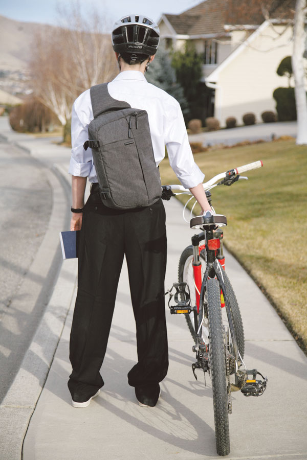 Image result for mormon missionaries on bikes