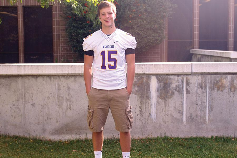 Wenatchee High School junior and quarterback Brandon Graves finds his inspiration from Seattle Seahawks' Russell Wilson.