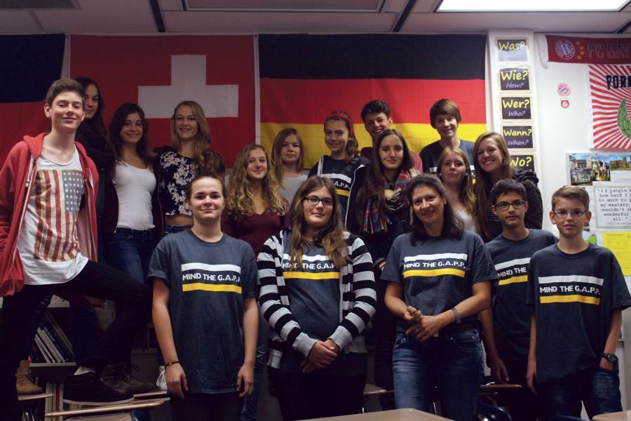 18+students+and+two+teachers+from+Germany+are+visiting+WHS+as+part+of+the+GAPP+Exchange+program.+