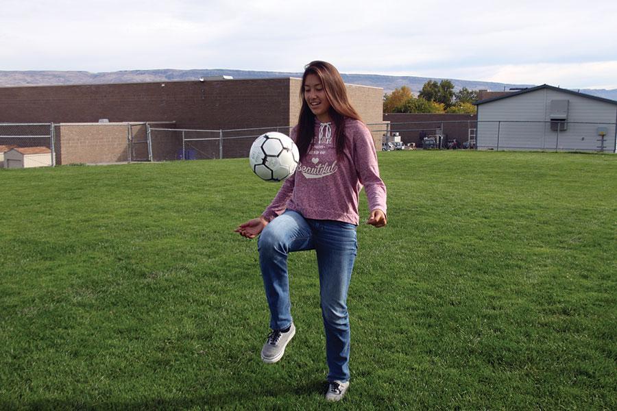 Freshman Ariana Escobedo
