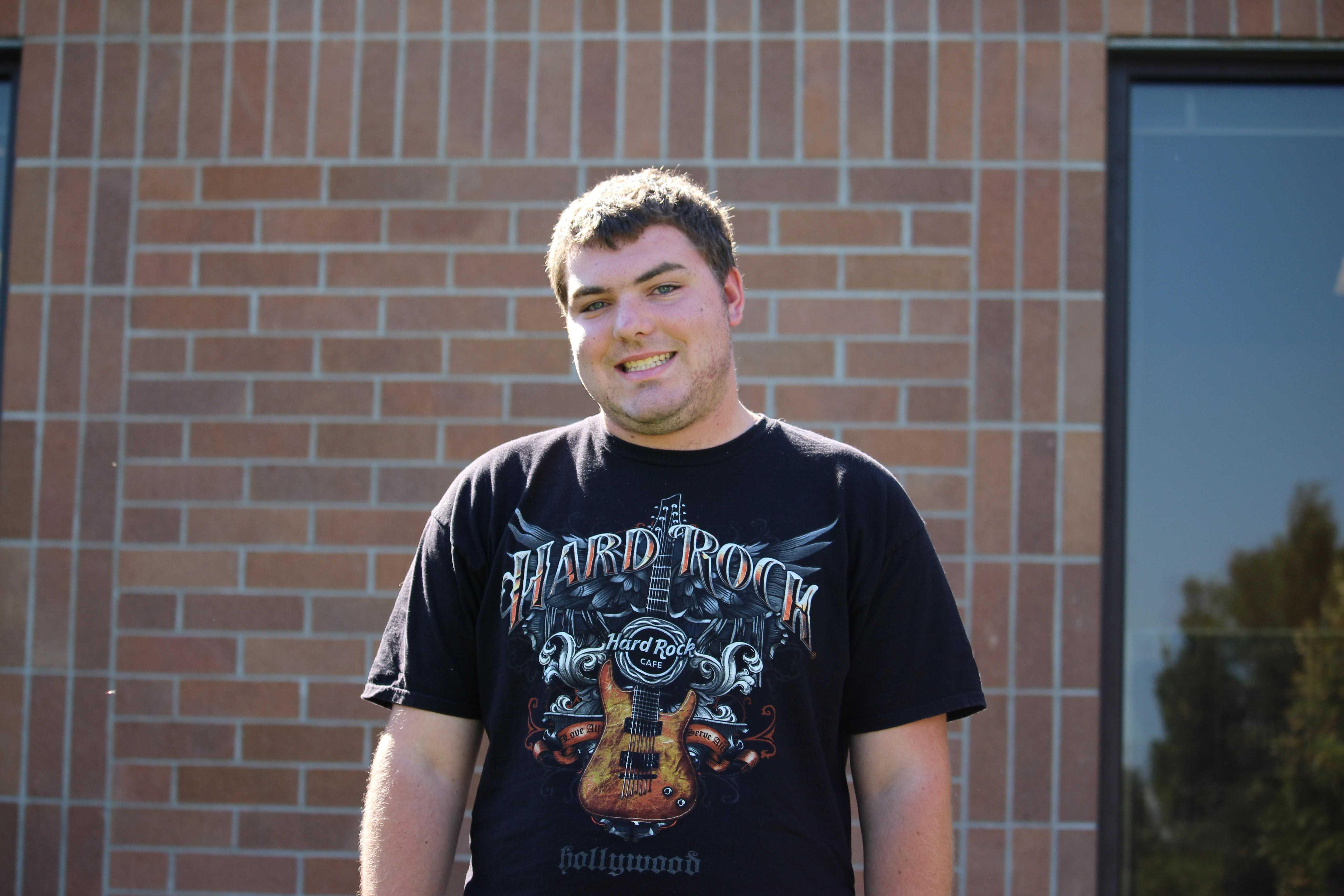 Staff Reporter Troy Price
