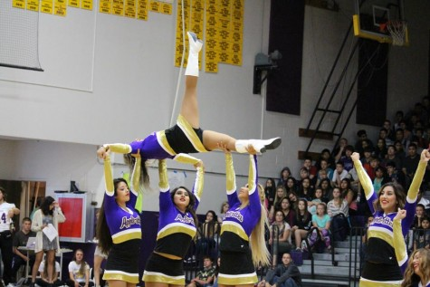 ASB officers and sports teams make waves at WHS's first pep assembly of the year