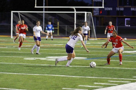 WHS varsity girls soccer team nets victory on their home turf