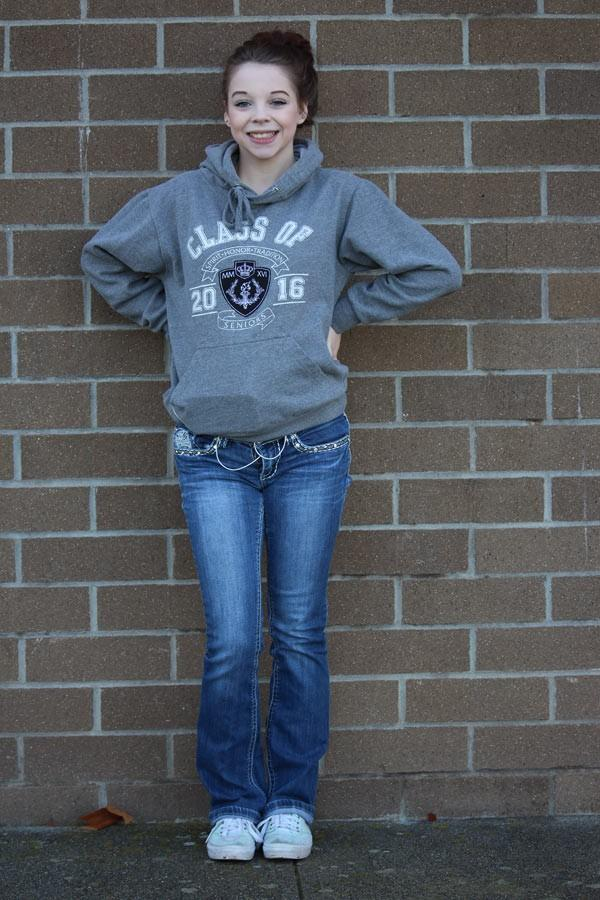 Senior Taylor Hagerty
