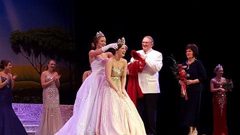 Wenatchee High School senior Kori Martin is crowned Apple Blossom Queen.