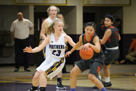 Girls basketball slam dunk districts play-in game