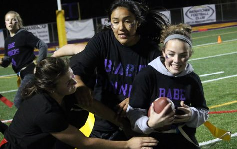 HOMECOMING: Young Dubs come out on top in Powder Puff