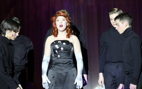 """Army of volunteers toil over production of """"White Christmas"""""""