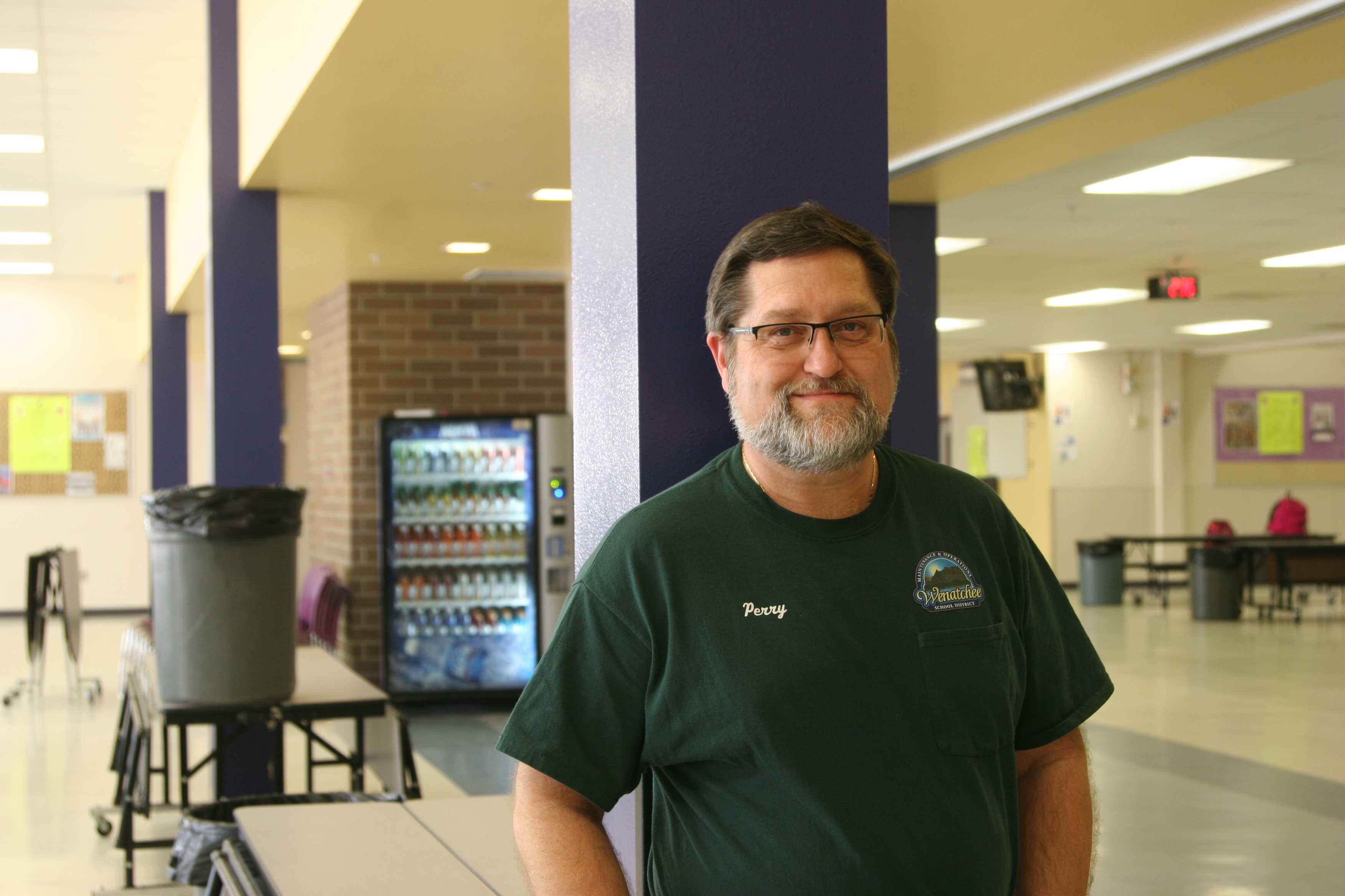 Custodian Perry shares the unheard narrative of one the most important jobs in the school.