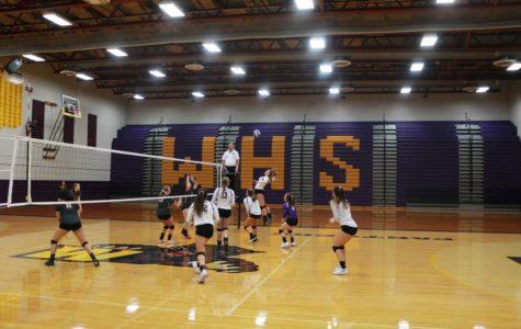 Varsity Volleyball Versus Davis 9/20