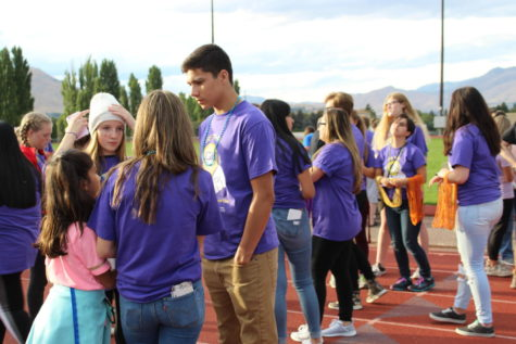 "Community raises suicide awareness at ""Be The Light"" walk"