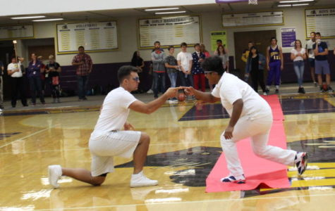 Pep assembly brings students to their feet