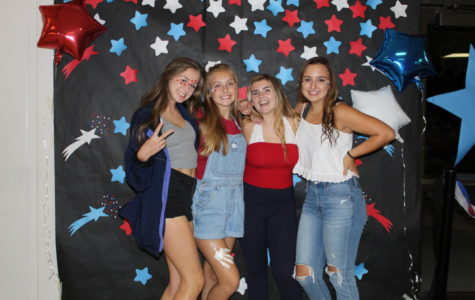 Fifth Quarter dance: photo booth