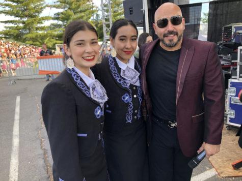Mariachi opens for Lupillo Rivera: Grammy artist and WHS Mariachi perform at Central Washington Fair