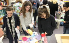 Honor Society fills stockings for families in need